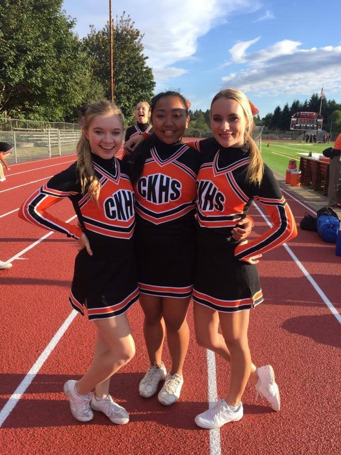 Cheer Captains Cougar Chronicle