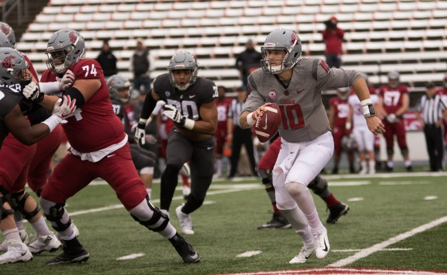 Sights From The Field 2019 Wsu Crimson And Gray Game
