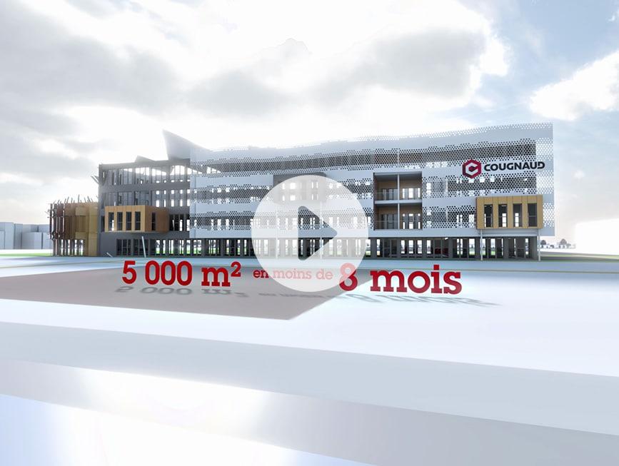 Les Nouveaux Bureaux Du Groupe  Cougnaud Construction