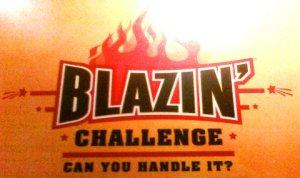 Blazin Challenge