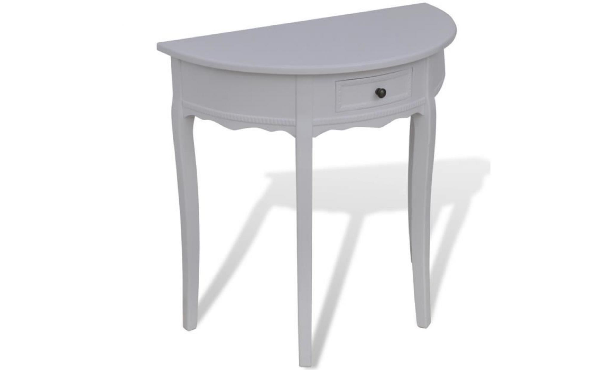 meuble console pas cher console design murale blanc noir. Black Bedroom Furniture Sets. Home Design Ideas