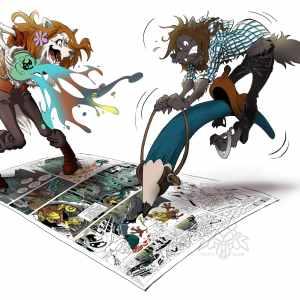 Kallya & Gloum - auteurs BD
