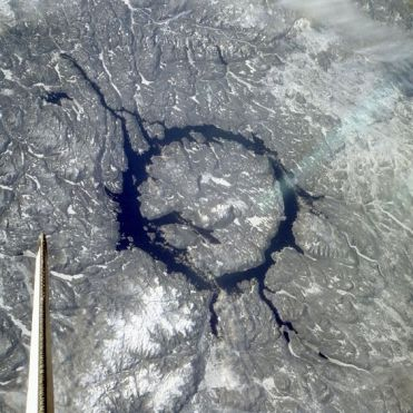 cratère de Manicouagan