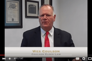 In this Elder Law Minute video, Wes Coulson discusses how the VA determines monthly benefits for those who are eligible. I coulsonelderlaw.com