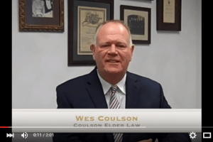 "Wes Coulson's reassuring advice to ""be brave, be strong and don't give up"" will help when dealing with difficult conversations with your elderly loved one. I coulsonelderlaw.com"