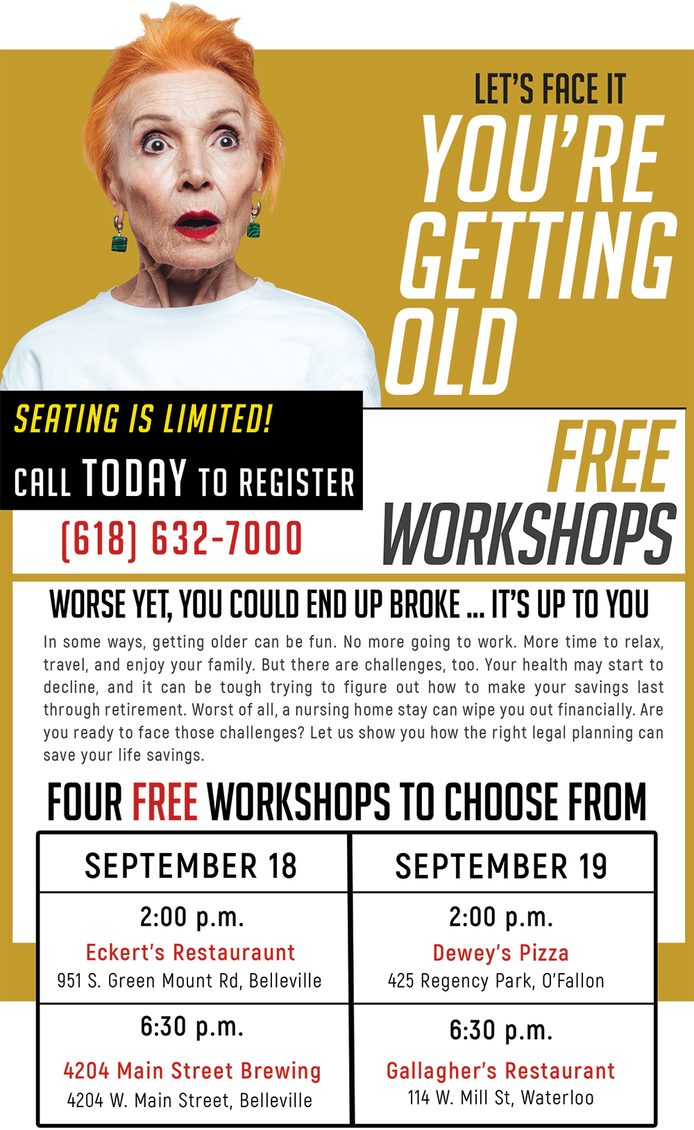 Free Elder Law Workshops
