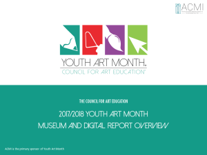Youth Art Month | The Council for Art Education
