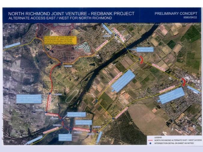 Grose River Bridge crossing map