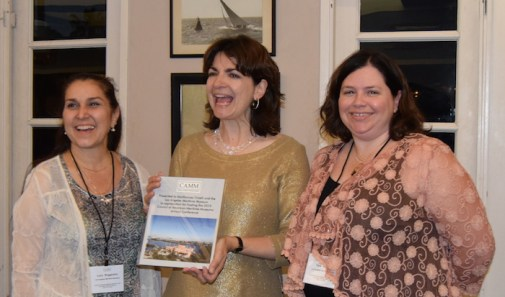 Lucy Ruggirello, Marifrances Trivelli, and Tara Fansler