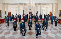 This image has an empty alt attribute; its file name is Cabinet_of_President_Joe_Biden_in_2021.jpg
