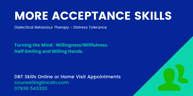 MORE ACCEPTANCE Skills Counselling Lincoln