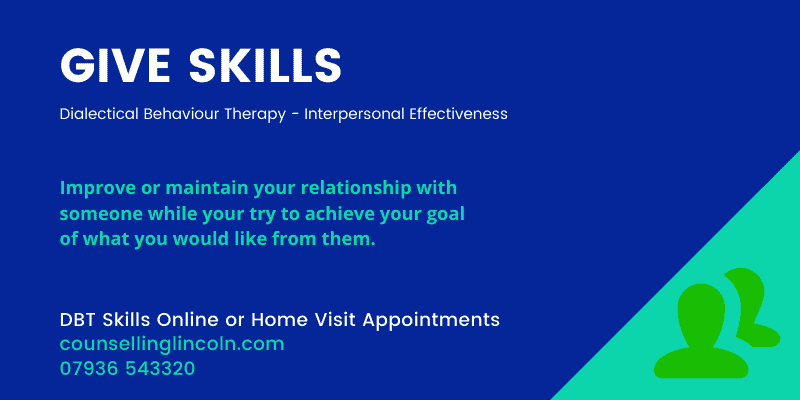 GIVE Skills Counselling Lincoln