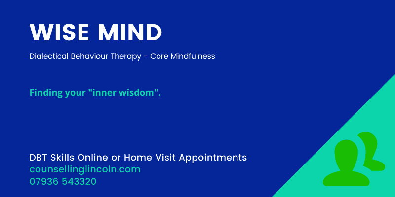 WISE MIND Skills Counselling Lincoln