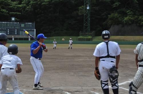 少年野球試合