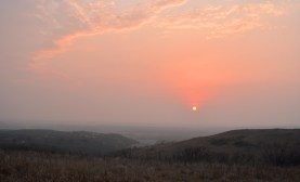 Flint Hills Sunset - 1