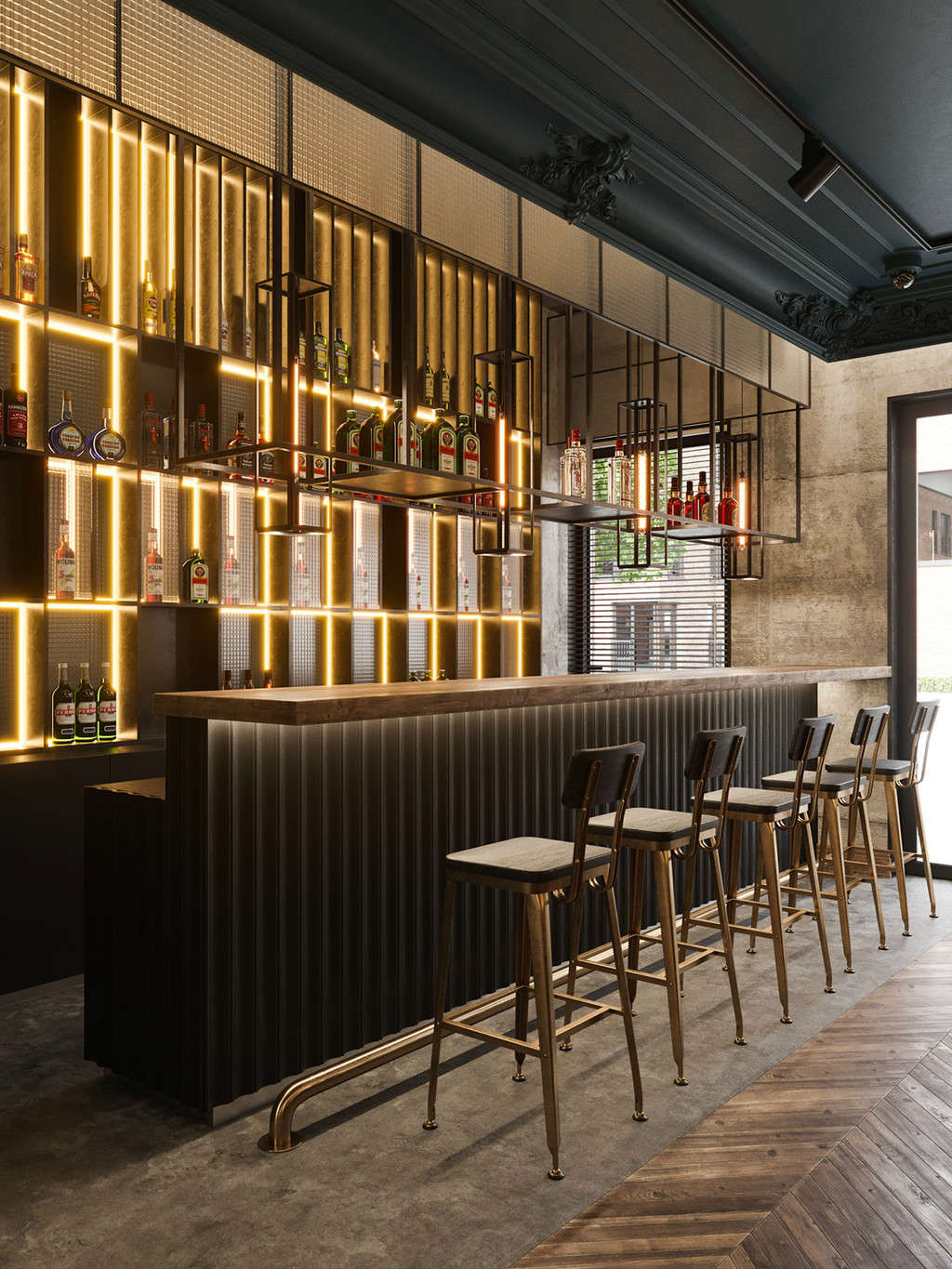 7 best contemporary bar stools you can get from restaurant interiors
