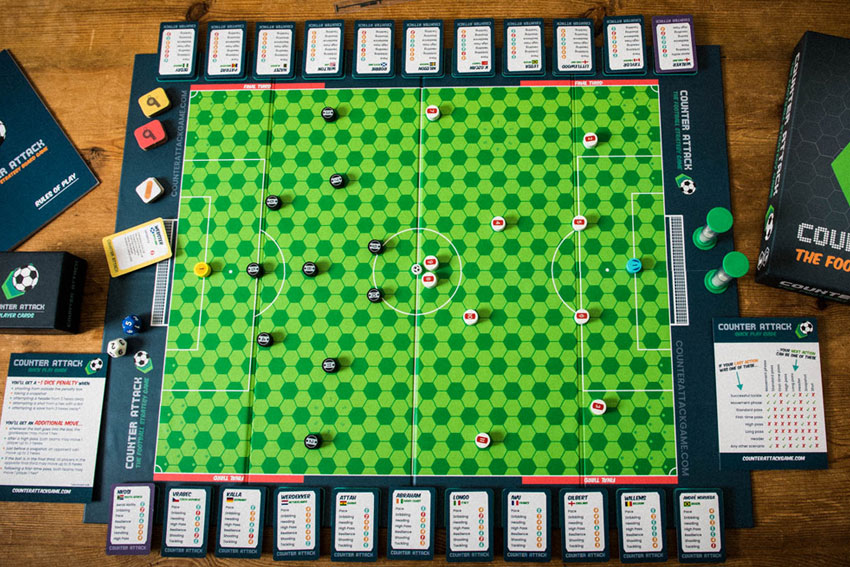 The Counter Attack pitch from above
