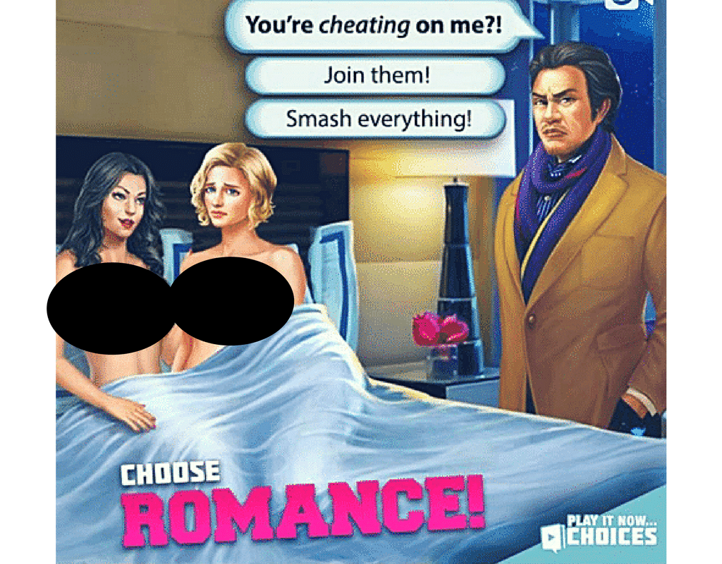 Choose your own adventure online sex