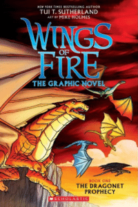 Are the Wings of Fire series safe for kids?