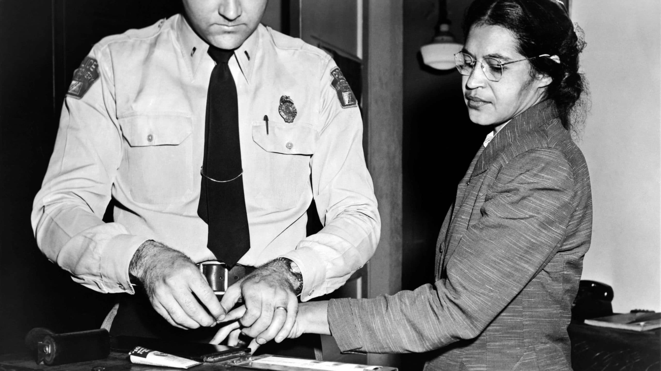 rosa parks peaceful
