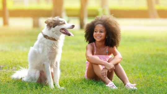 children dog mental health