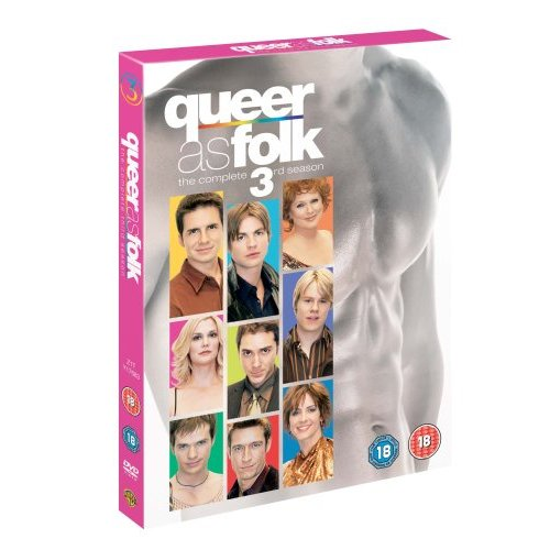 Queer as folk 9US0 DVD cover