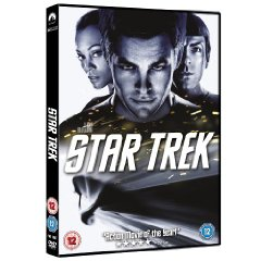 Star Trek 2009 DVD cover