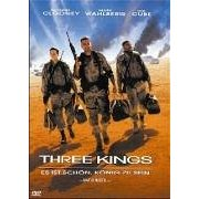 DVD cover of Three Kings