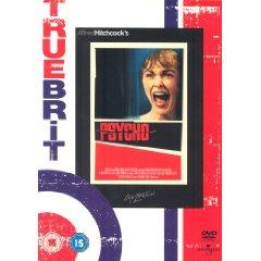 Psycho DVD Cover