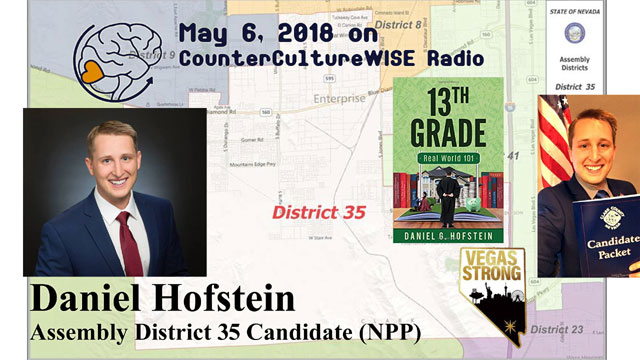 Daniel Hofstein on CCW Radio