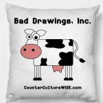 Cow Art pillow