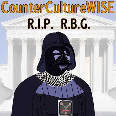 RBG as Darth Vader
