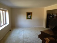 The original living room, boring, bland and beige.