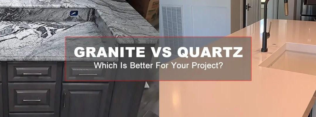 Granite vs Quartz: Which is Better?