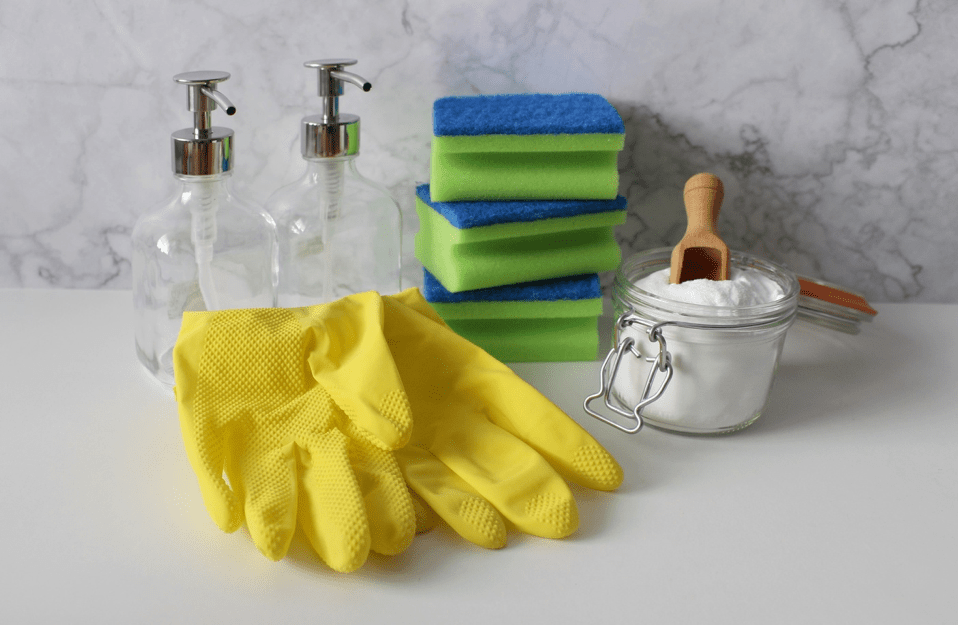 Quartz Countertop Cleaning Supplies