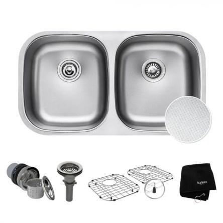 KRAUS Outlast MicroShield Kitchen Sink