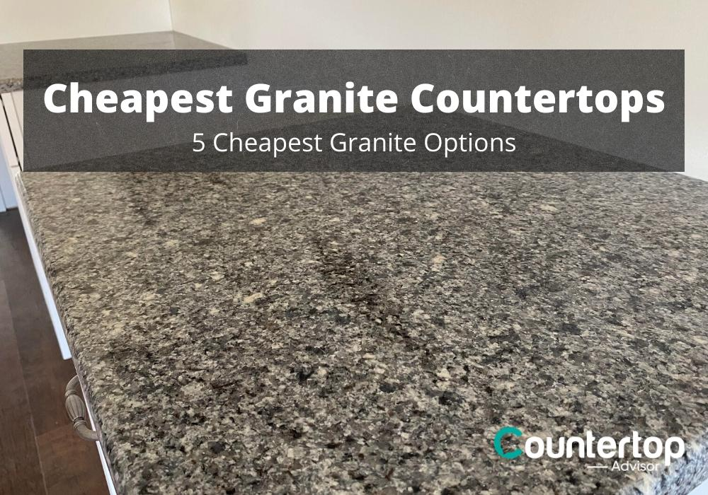 cheapest granite countertops 5