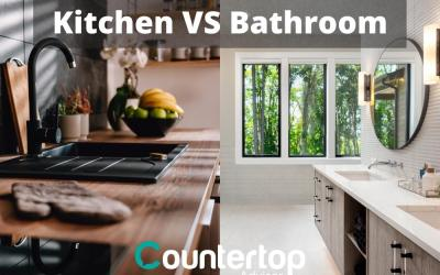 Kitchen vs. Bathroom Countertops: Is There a Difference?