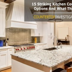 Kitchen Countertop Cost Cafe Style Tables For Plain And Simple Price Chart 15 Striking Options What They