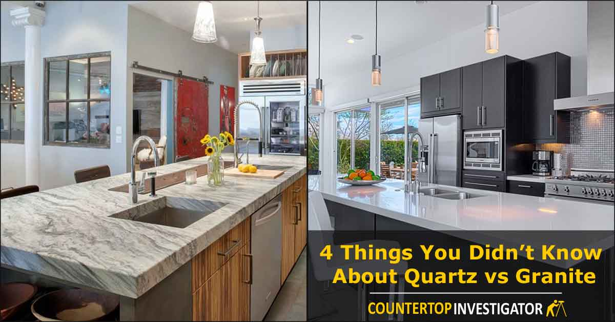 kitchen countertop cost samsung appliance package granite versus quartz countertops pros and cons 4 things you didn t know about vs