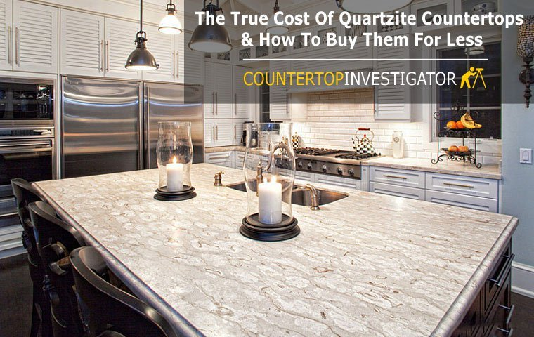 average cost for kitchen cabinets cabinet installers the true of quartzite countertops & how to buy them ...