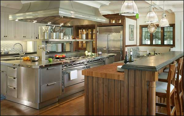 stainless kitchen buy cabinet doors steel countertops here are the pros and cons not only counters aesthetically pleasing but they re resistant to water heat stains just about anything else has a