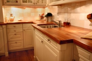 Cherry Butcher Block Countertops