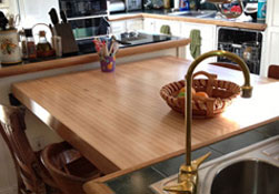 Maple Butcher Block Countertop Wood