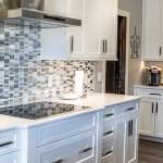 White Kitchen Countertops White Kitchen Cabinets