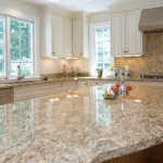 Gold Color Granite Kitchen Countertops Ideas Gold Trend