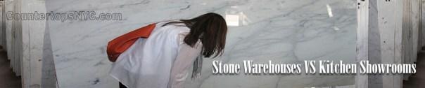 Stone Warehouses VS Kitchen Showrooms