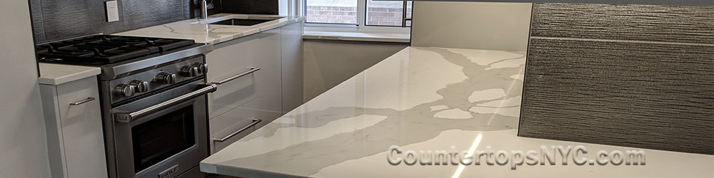 White Quartz Countertops That Look Like Marble Countertops Nyc
