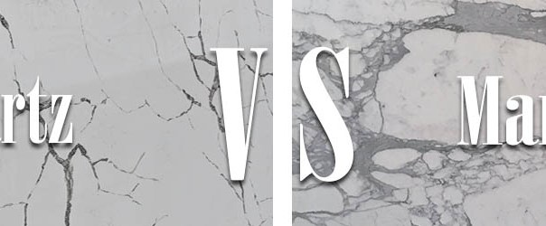 Marble vs. Quartz Countertops