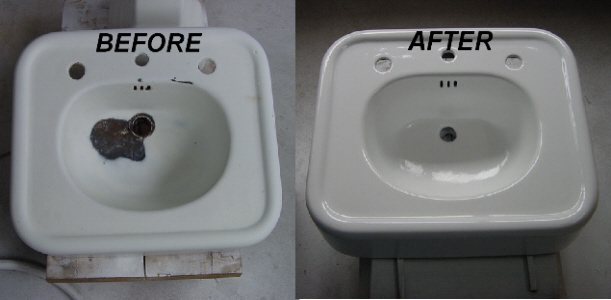 how to refinish kitchen sink drain assembly countertop and tub re-nu